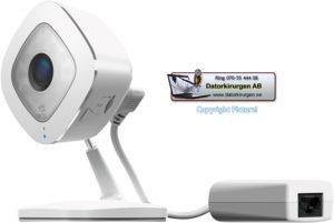 Trådlös övervakningskamera inomhus Netgear Arlo Q Plus Datorkirurgen AB