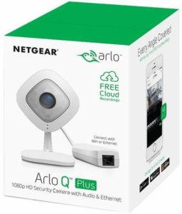 Trådlösa övervakningskameror inomhus Netgera Arlo Q Plus Datorkirurgen AB